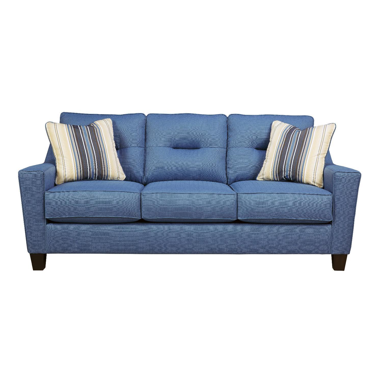 CB2 Modern Queen Sleeper Sofa AptDeco