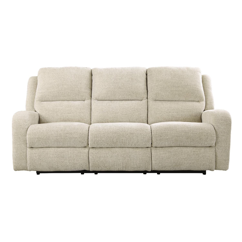 Ashley's Krismen Contemporary Power Reclining Sofa w/ Adjust