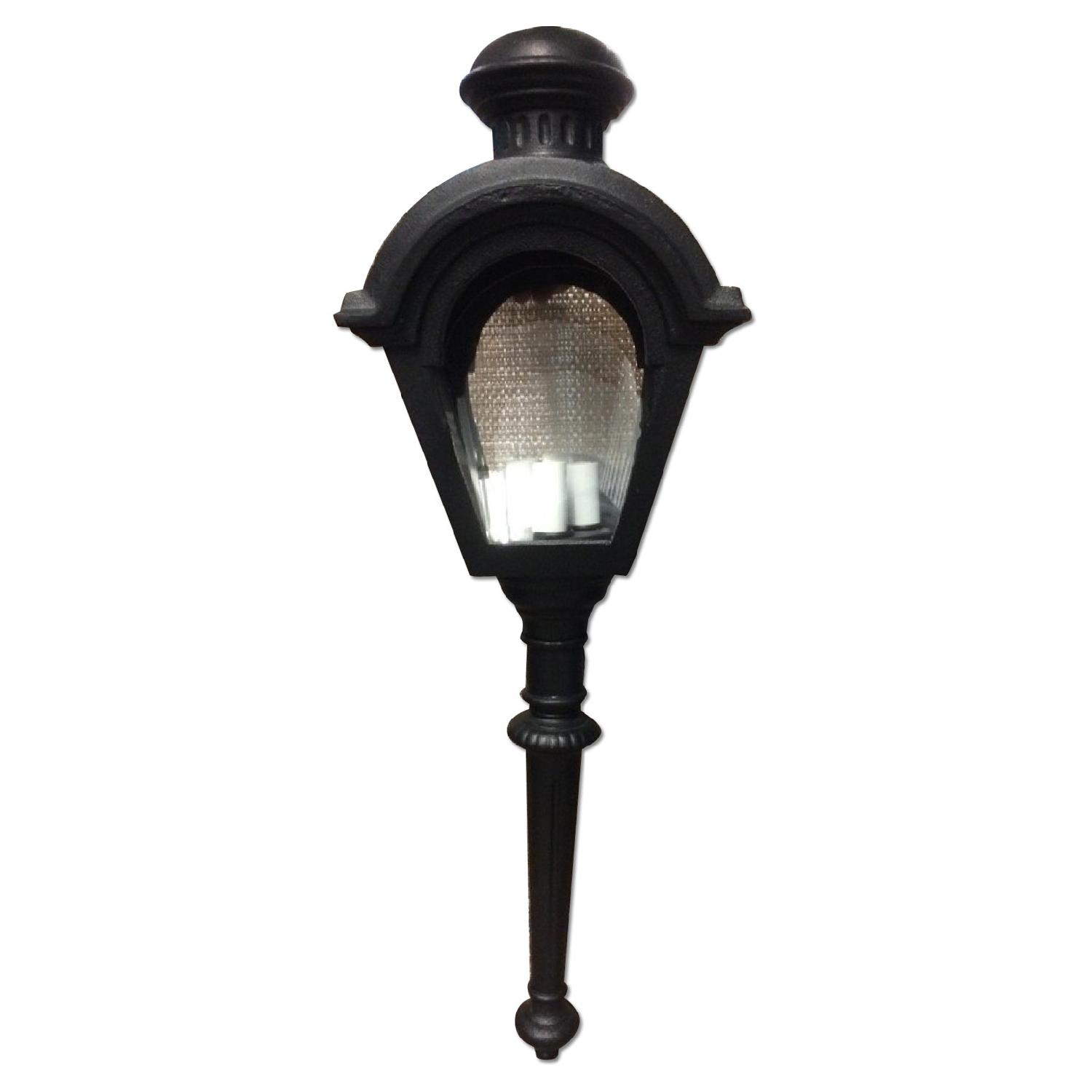 Hinkley Lighting Black Wall Torch wi/ Tail