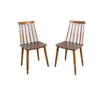 Danish Modern Billund Stolefabrik Dining Chairs