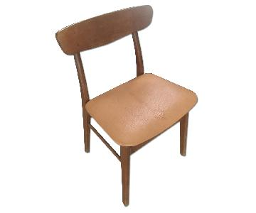 Vintage Danish Modern Teak Dining Chairs