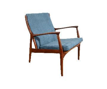 S. A. Andersen Horsns Danish Modern Teak Lounge Chair