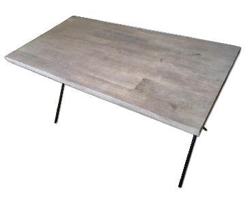 West Elm Metal Truss Work Table