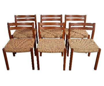 J.L. Moller Danish Teak Dining Chairs