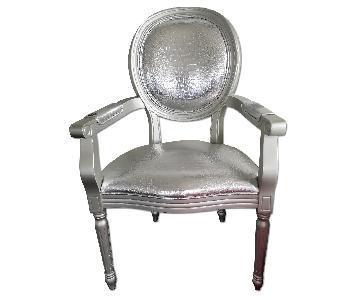 Modani Silver Croco Armchair