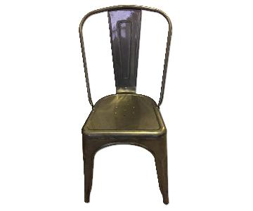 Tolix Style Metal Chair