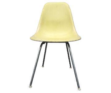 Herman Miller Mid Century Fiberglass Shell Chair