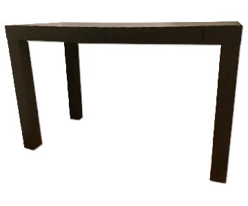 Ikea Dark Brown/Black Desk