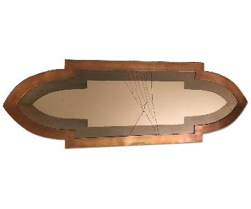 Urban Outfitters Full Length Copper Mirror