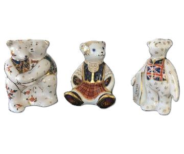 Diamond Jubilee Limited Edition Royal Crown Derby Bears