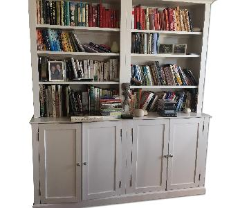Custom Made Built In Bookshelf