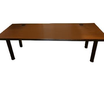 Vitra Desk + Matching Filing Cabinet