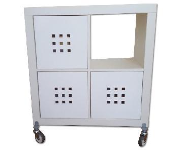 Ikea Kallax Storage w/ 3 Drawer Inserts
