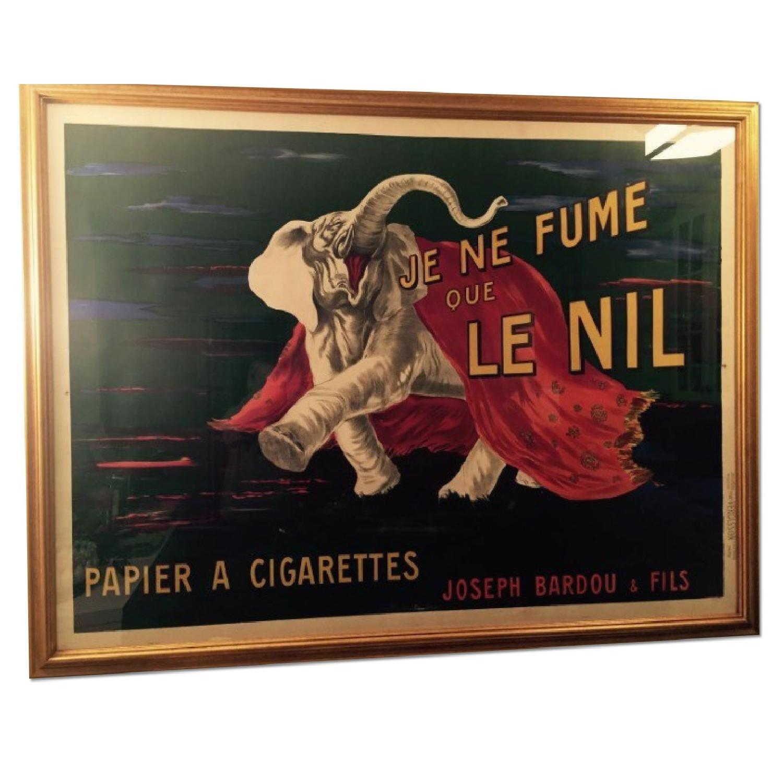 Le Nil Vintage French Cigarette Poster Aptdeco