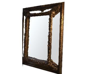 Huge Antique Mirror