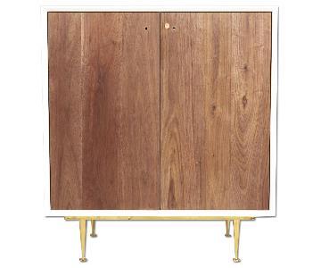Organic Modernism Deco Cabinet