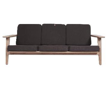 Organic Modernism Milton 3 Seater Sofa