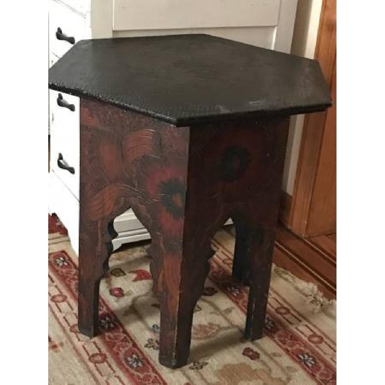 Vintage Moroccan Style Side Table Aptdeco
