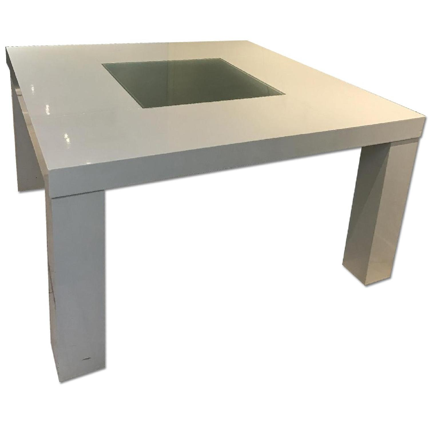 White dining table - Large White Dining Table Office Desk