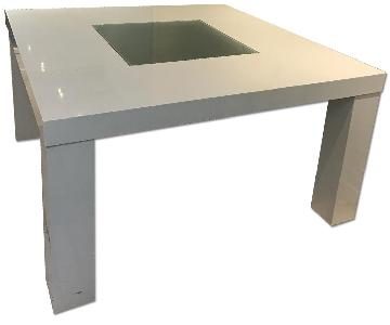 Large White Dining Table/Office Desk