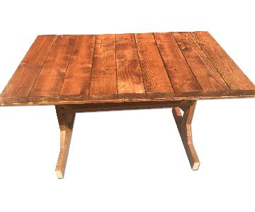 Reclaimed Wood Dining Table/ Desk