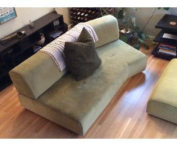 2 Piece Sectional Sofas For Sale Aptdeco