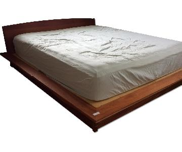 Pompanoosuc Mills Cherry King Storage Bed Frame
