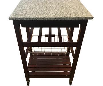 Kitchen Cart w/ Granite Top