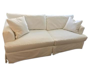 Wayfair Carly White Sofa