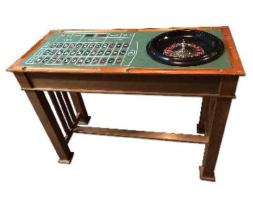 4 In 1 Wooden Casino Bar Table