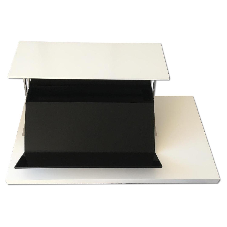 boconcept occa functional coffee table w/ storage - aptdeco