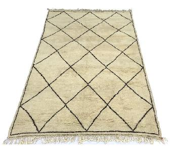 Harlequin Moroccan Handmade Wool Rug