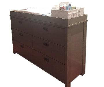 Restoration Hardware Haven Wide Dresser w/ Topper