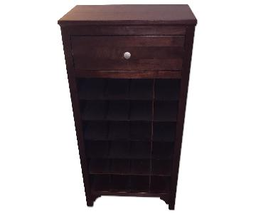 Winsome Wood Wine Cabinet