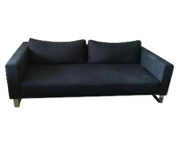 Navy Blue 3 Seater