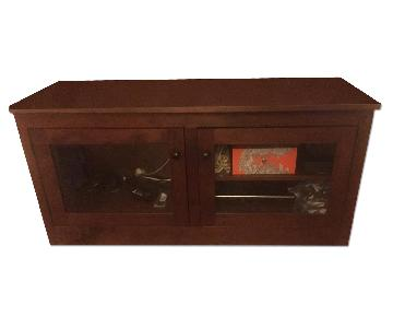 Crate & Barrel Media Storage Console
