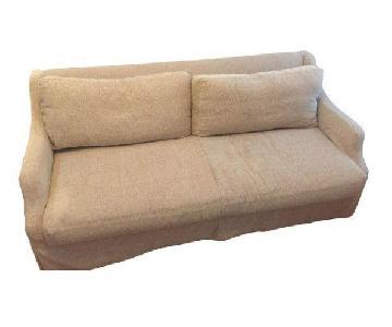 Custom Taylor Scott Collection Queen Sleeper Sofa