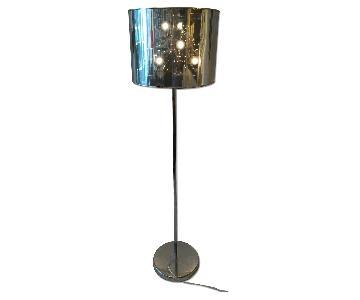 Chrome Starburst Floor Lamp