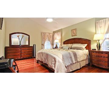 4 Piece King Size Bedroom Set