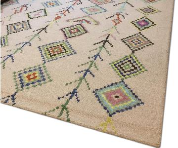 nuLOOM Moroccan Triangle Ivory Rug