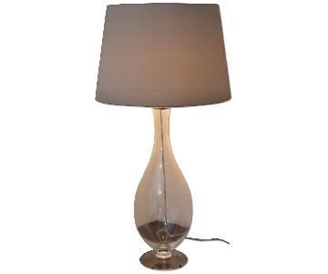 Martha Stewart Glass Table Lamp