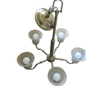 Sea Gull Lighting Windgate Five-Light Brushed Chandelier