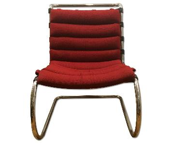 Knoll Mies Van Der Rohe MR Lounge Chairs