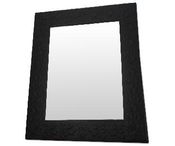 Mirror w/ Leaf Motif