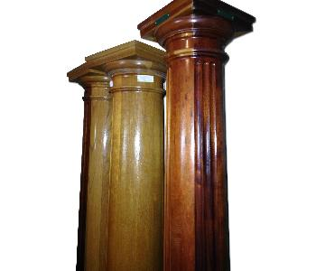 Architectural Wood Columns