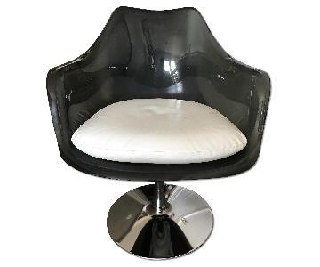 Vintage Saarinen Style Tulip Armchairs