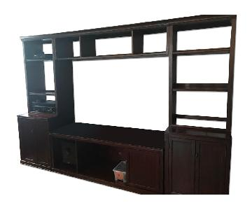 Pottery Barn Wall Media Unit
