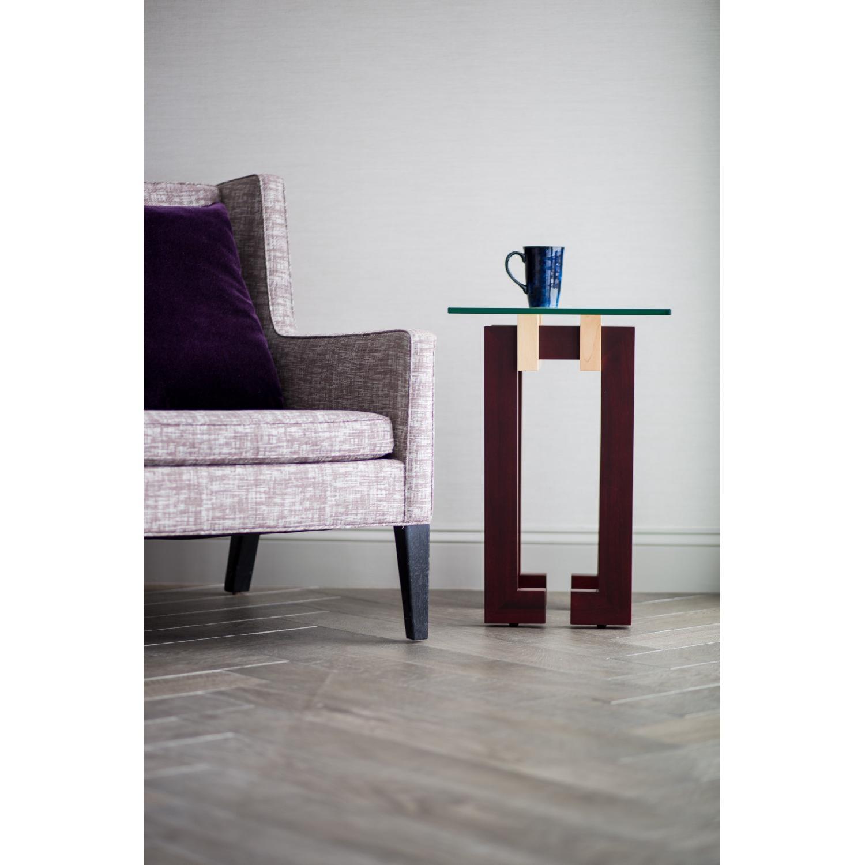 Douglas Design Ant Walnut Maple Side Table - image-1