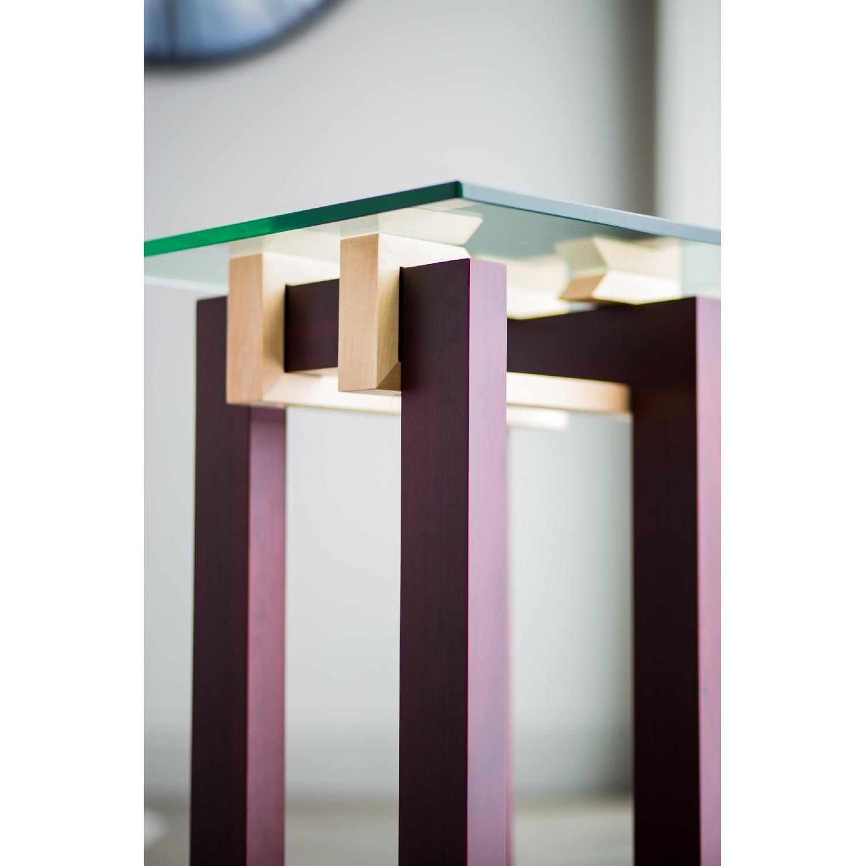 Douglas Design Ant Walnut Maple Side Table - image-4