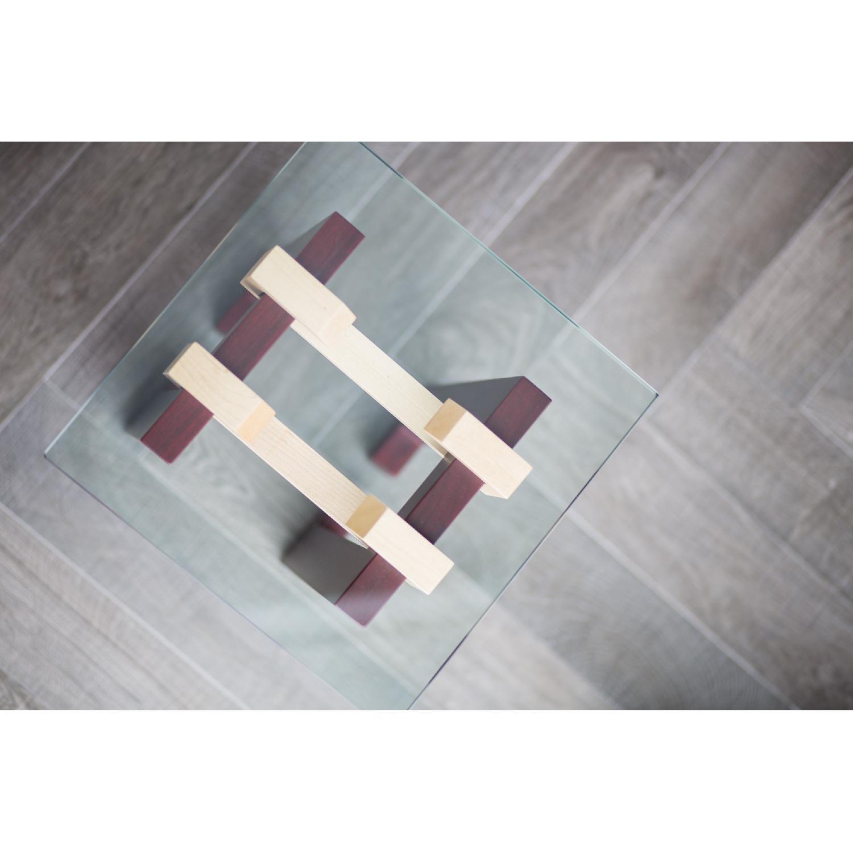 Douglas Design Ant Walnut Maple Side Table - image-5